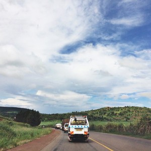 The road to Jinja, so familiar, so holy. For the…