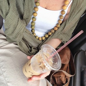 I pretty much introduced the iced latte to Jinja....ok, maybe…